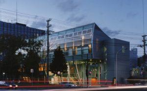 函館市役所前の高龍寺 音羽ホール